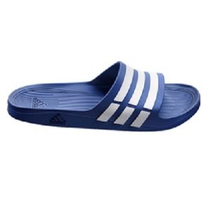 5e1221b59 21.99 Select options · adidas mens duramo slide true blue white and true blue  flip flops and house slippers 10